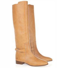 Camel Chloe boots.