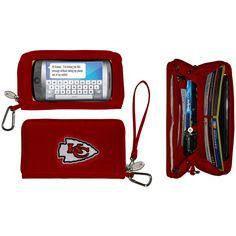 Kansas City Chiefs Deluxe SmartPhone Wallet