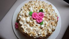 Cobertura de Marshmallow com creme de leite - Monta Encanta