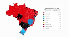 Mapa abre ranking  (Foto: GloboEsporte.com)