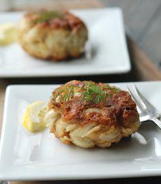 Baltimore-Style Crab Cakes #recipe