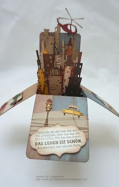 Stempelimperium: Card in a Box - Sizzix Cityscapes, Tim Holtz