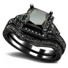 Black Diamond Engagement Rings the best alternative - Engagement Rings Network