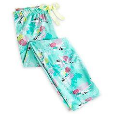 Disney Tinker Bell Blue Lounge Pants for Women (XL) Disney