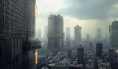 Building Dredd's Mega-City One