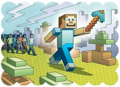 MinecraftEdu takes hold in schools Educational Activities, Educational Technology, Instructional Technology, Computer Lessons, Computer Programming, Minecraft School, Middle School Libraries, Common Core Curriculum, Genius Hour