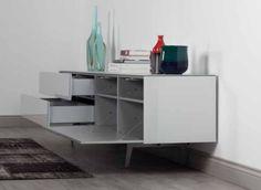 dressoir wit, dressoir design, dressoir modern, dressoir kast | SONOROUS.NL Corner Desk, Drawers, Furniture, Design, Home Decor, Corner Table, Decoration Home, Room Decor, Set Of Drawers