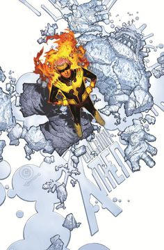 UNCANNY X-MEN #13 variant cover by Chris Bachalo