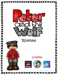 I created these cards for use with your students as you study Peter and the Wolf. While you are busy studying the connections between the characters and the instruments and teaching the musical themes for each character, here is a fun way to keep up with your rhythmic reading skills as you are working through your own Peter and the Wolf Unit.
