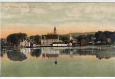 EAST BLACKWELL ST. DOVER   NJ Divided Back,  PC 1920'S CARD