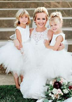 A Moment in Time Pixie White Lace Dress Flower Girl Gown, White Flower Girl Dresses, Lace Flower Girls, Gowns For Girls, Girls Dresses, Pink Lace, White Lace, Gold Sequin Gown, Pink Tulle Skirt