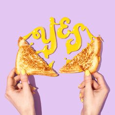 Yes to Cheese Art Print by Amy Shamblen - X-Small Food Typography, Creative Typography, Vintage Typography, Typography Poster, Typography Design, Typography Alphabet, Typography Quotes, Birthday Typography, Poster Quotes