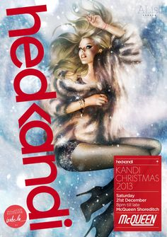 Hed Kandi Christmas Party at McQueen Sat 21st Dec 2013 #KandiChristmas Promoter @AListLondon @HypeLDN1 #McQueenShoreditch