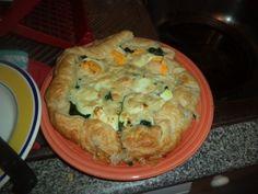 Receita Tarte folhada de espinafres, atum e ovo, de Sweetaboutmyfood - Petitchef