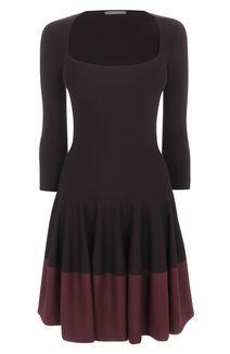 Bi-Colour Panelled Circle Dress