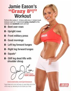 Diary of a Fit Mommy: Jamie Eason's Crazy 8's Workout