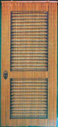 Amazon.com - Louver Door Beaded Curtain 125 Strands (+hanging hardware) - Window Treatment Curtains