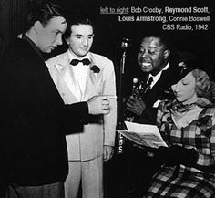 """Raymond Scott (the son of immigrant Jews) wrote his first hit, """"Christmas Night in Harlem more about this song at http://www.learnyourchristmascarols.com/2014/12/christmas-night-in-harlem-lyrics-mp3.html"""