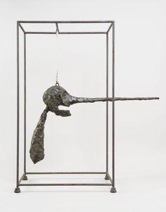 Alberto Giacometti, Le Nez, 1947 (version de 1949), bronze, 81 x 70 x 41 cm (©Succession Alberto Giacometti/ Fondation Alberto et Annette Giacometti/2013).
