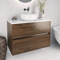 Athena Bathrooms, New Zealand owned and operated. Athena design premium baths, showers, vanities, and more bathroomware for Auckland and New Zealand. New Zealand Houses, Traditional Cabinets, Stone Bench, Cabinet Styles, Cabinet Colors, Cabinet Design, Wall Design, Basin, Bathroom Ideas
