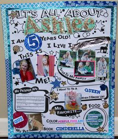 All about me poster idea | Kid Stuff | Pinterest | Poster ideas ...