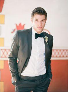 stylish tuxedo for the groom