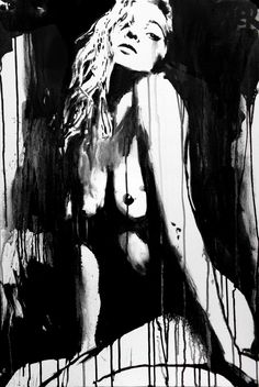 Loui Jover http://www.saatchiart.com/art/Painting-white-SOLD/284005/2446794/view