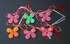 butterfly polymer clay, pink, martisoare handmade fluturi din fimo Polymer Clay, Butterfly, Drop Earrings, Christmas Ornaments, Holiday Decor, Handmade, Jewelry, Home Decor, Fimo