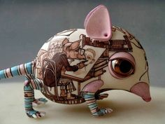 I love this, but can't find it online anywhere that has more info about the artist. - Ceramic art by Judith
