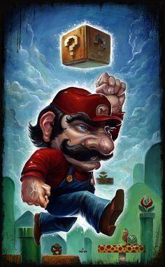 Plumber on the Go - Mario Art