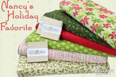 Nancy Halvorsen Christmas Favorites   Nancy's Holiday Favorites by Nancy Halvorsen for Benartex