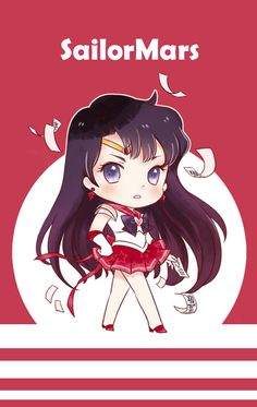 Sailor Mars!! so cute!