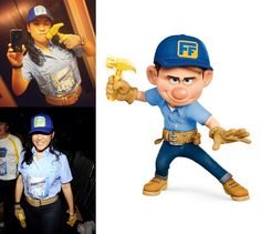 Fix-It Felix // Wreck-It Ralph // runDisney // WDW Half Marathon 2013 // Running Costume