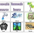 This product contains 18 cards with definitions and pictures of renewable and nonrenewable resources. Students can sort cards as renewable and nonr...