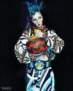 2NE1 Sandara Park, Vogue