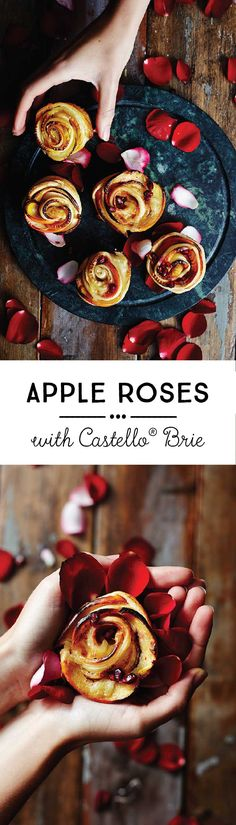 Our apple roses with Brie may look complex, but they are very simple to put together!