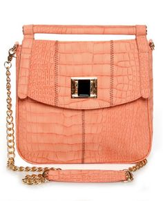 Sunny Florida Coral Pink Handbag  1 Left! $44.00  #lovelulus