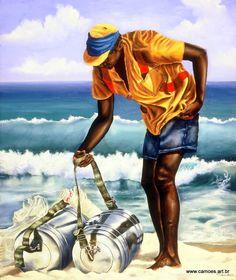 Da Mate e Limão beach seller