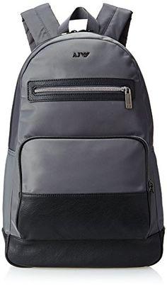 Amazon.com  Armani Jeans ZM241X5Z2 Backpack Grey One Size  Clothing c5153dd005ad3