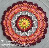 Ravelry: Fireworks Mandala pattern by zelna olivier