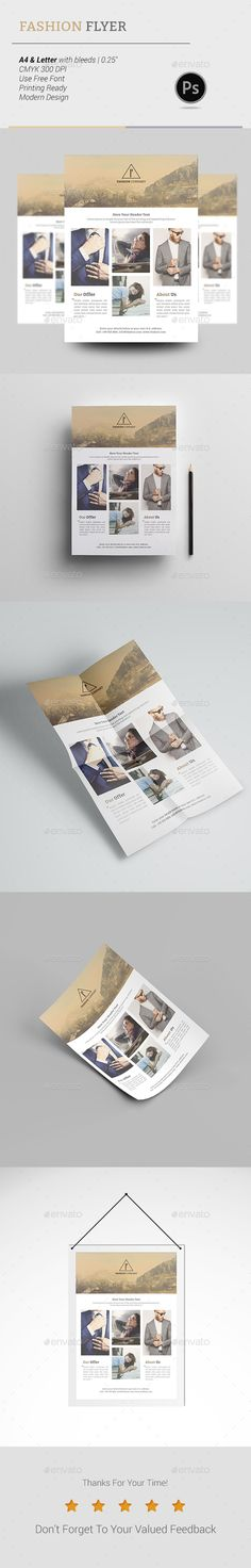 The Battle Flyer Flyer template, Template and Creative flyers - fashion design brochure template