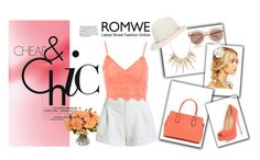 """""""Romwe contest"""" by denisa-kulanic ❤ liked on Polyvore featuring New Growth Designs, Jane Norman, Alexis Bittar, Janessa Leone, Express, ASOS and Dorothy Perkins"""