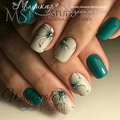 elegant autumn nail designs have to try blackish green floral stiletto nails inspo 24 ~ thereds.me : elegant autumn nail designs have to try blackish green floral stiletto nails inspo 24 ~ thereds. Manicure Nail Designs, Nail Manicure, Toe Nails, Nail Art Designs, Gel Nail, Stiletto Nails, Green Nail Designs, Nail Glue, Uv Gel