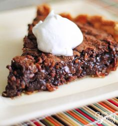 German Chocolate Pie | 19 Chocolate Pies That Prove Happiness Is Within Reach