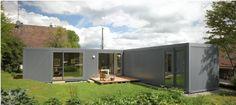 저비용으로 그림같은 주택을 구사한 'ㄱ'자형 컨테이너 - Daum 부동산 커뮤니티