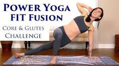 Intense Power Yoga Workout with Julia Marie! Challenge Your Abs & Glutes, Weight Loss, Fitness – Exercises and Fitness Beginner Yoga Workout, Workout For Beginners, Yoga Fitness, Glute Challenge, Improve Mental Health, Bikram Yoga, Free Yoga, Yoga For Weight Loss, Yoga Videos