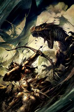 Turok art by Raymond Swanland #Comicon Gifting Suite, Celebrity Product…