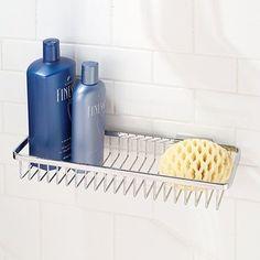 Motiv  Hotelier Long Deep Basket Bathroom Shelf - traditional - shower caddies - other metro - by Fixture Universe