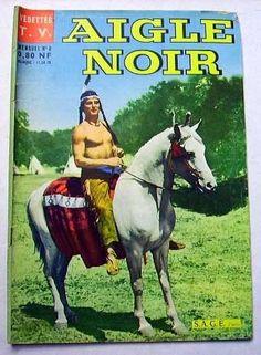 Aigle Noir N° 5 : UNE COURSE A LA VIE - S.A.G.E. 1961