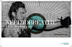 Needtobreathe, The Reckoning Tour. So so excited for this. :)